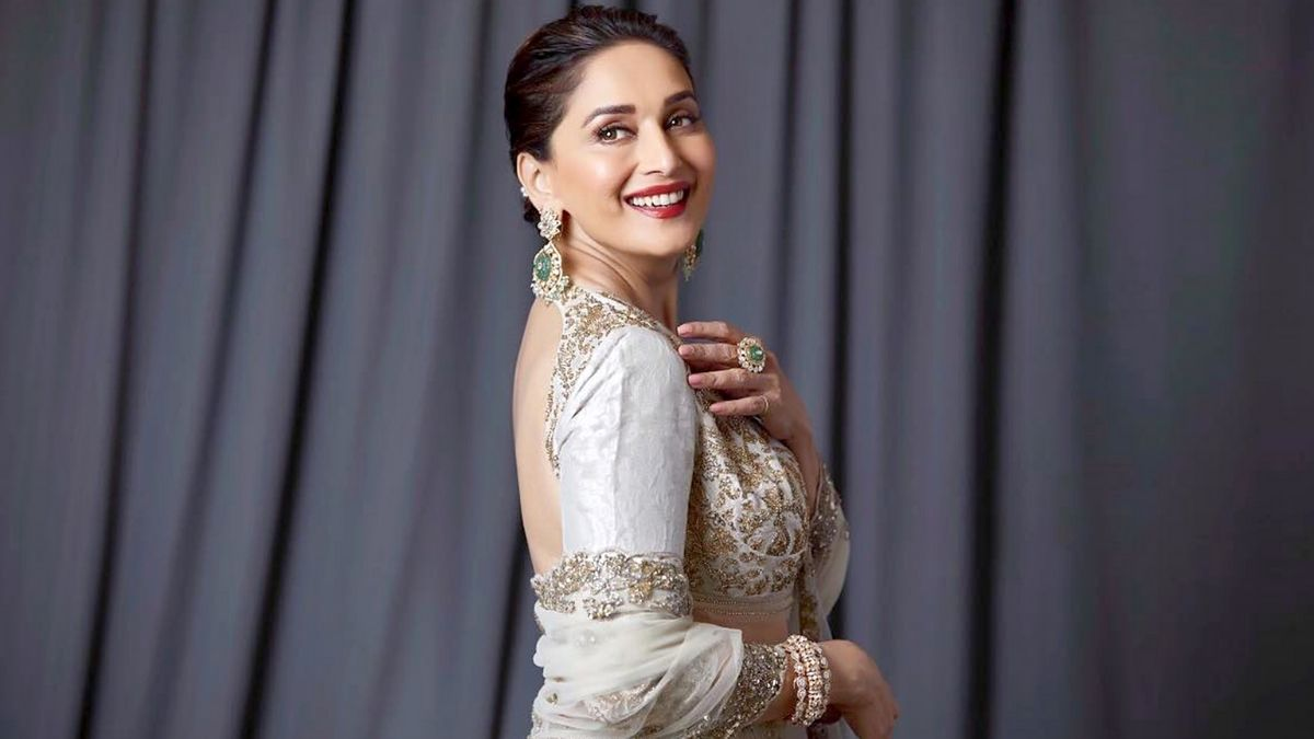 Madhuri Dixit shares pictures from her recent photoshoot