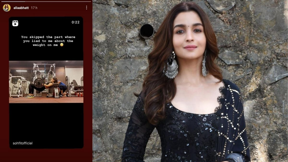 Alia Bhatt jokingly replies to her video posted by her fitness trainer