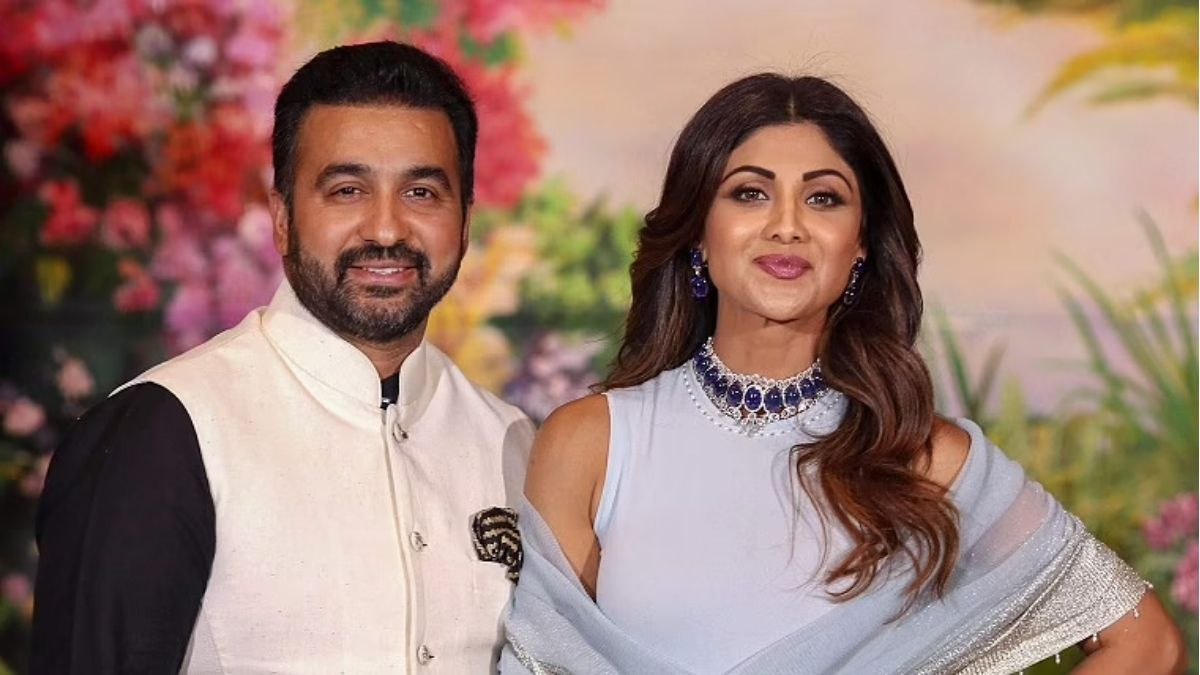Raj Kundra shares video featuring Shilpa Shetty and him as Kate Winslet and Leonardo DiCaprio from Titanic