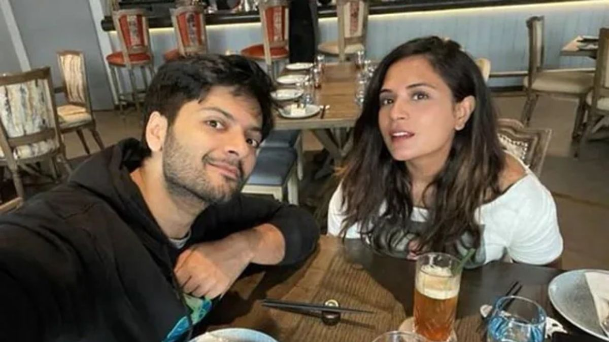Richa Chadha shares a video and pens a poem for Ali Fazal saying 'this poem may be lame'