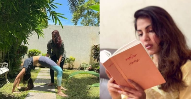 Rhea Chakraborty is 'healing' through Yoga, fans says 'We are with you'