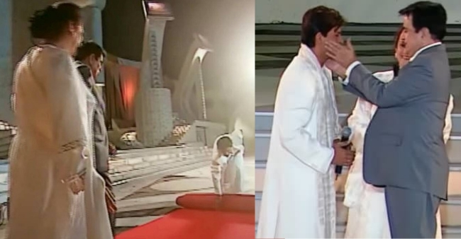 When Shah Rukh Khan asked Dilip Kumar to 'Slap' him, rolled out red carpet for legends