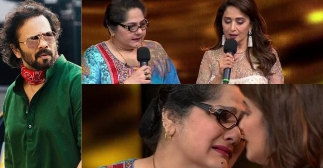 Shagufta Ali receives financial aid from Madhuri Dixit after Rohit Shetty, breaks down on the sets of Dance Deewane