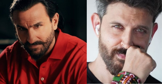 Hrithik Roshan and Saif Ali Khan to star in the Hindi remake of Vikram Vedha, release date announced