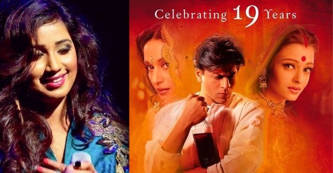 Shreya Ghoshal completes 19 years in Industry with DevDas, thanks Sanjay Leela Bhansali for believing in her