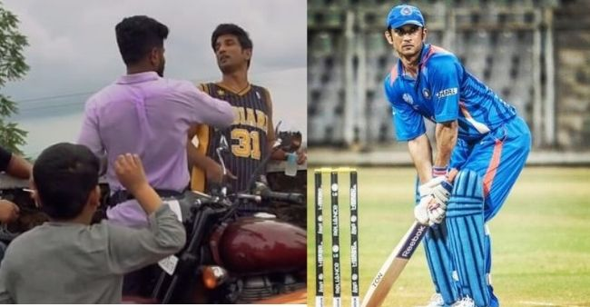 When a child chanted 'Dhoni Dhoni' in front of Sushant Singh Rajput, makers releases BTS Video from Dil Bechara