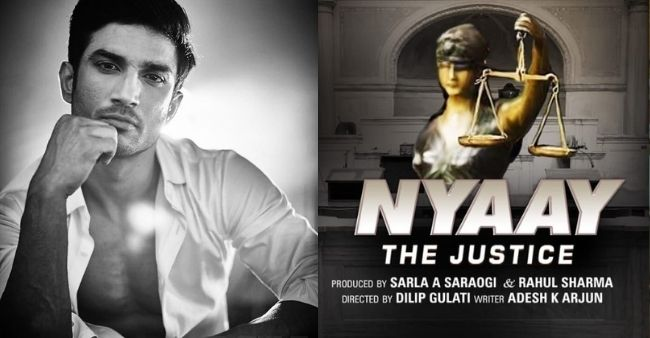 High Court denies to stay on the release of 'Nyay: The Justice' based on SSR death case, to have a theatre release