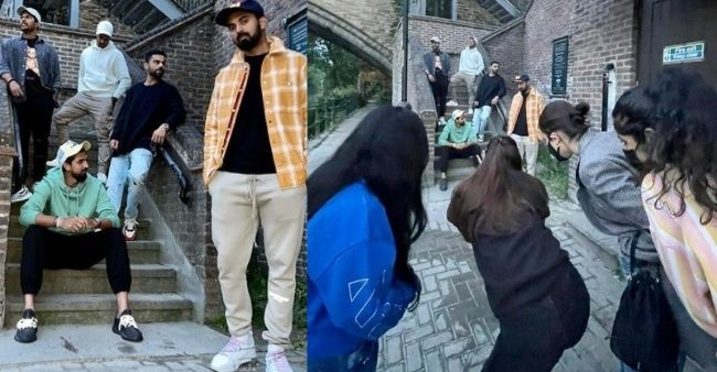 KL Rahul shows the quirky efforts needed to click an insta-fit pic