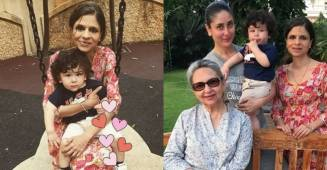 Saba Ali Khan warns users to not troll her on 'weight' as she shares a throwback picture with 'Taimur'