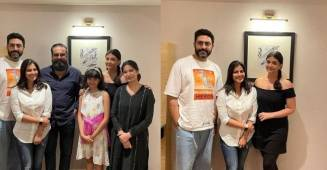Aishwarya Rai's latest pictures with husband Abhishek Bachchan and daughter Aaradhya sparks up pregnancy rumours