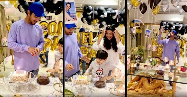 Rumored winner of KKK 11 Arjun Bijlani gets a grand welcome from the family after returning from Cape Town