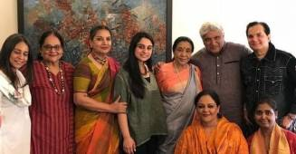 Asha Bhosale held a 'Chai Pe Charcha' with some iconic veterans of Bollywood industry