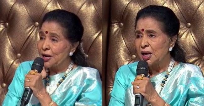 Asha Bhosale gives an exact imitation of Lata Mangeskaron the special episode of Indian Idol 12, fans gush over the legend