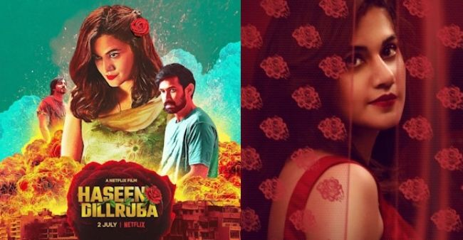 Taapsee Pannu responds to criticism on 'Haseen Dilruba', says movies are the mirror reflection of society
