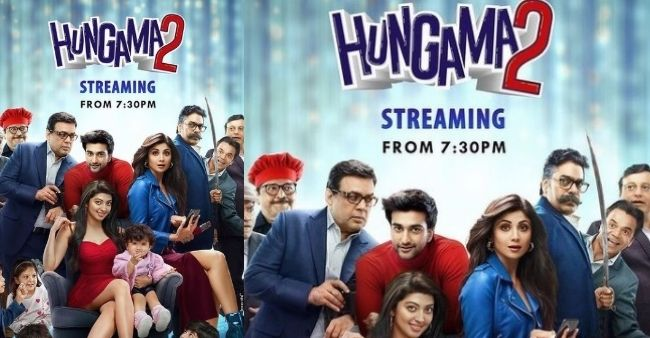 Netizens came up with mixed reviews on Shilpa Shetty, Paresh Rawal and Meezan Jaffrey starrer Hungama 2, made it a new source for memes