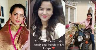 Kangana Ranaut gets heartbroken on a fan's accidental demise in Himachal Pradesh Landslide, pleaded fans to refrain from going out in valleys during this time