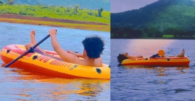 Irrfan Khan's Son Babil owns a lake, plans to breed endangered fish bread, Shares pictures