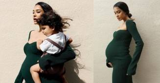 Lisa Haydon gave this one word response to the person who commented 'her baby will be cursed'