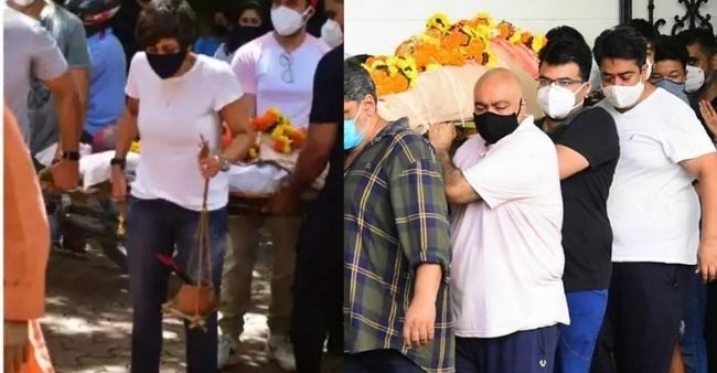 Mandira Bedi performs last rites of husband Raj Kaushal, netizen supports 'empowered woman of India' for breaking stereotypes