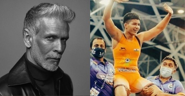 Milind Soman confuses Priya Mallik's gold medal with Tokyo Olympics, says won't delete the tweet but apologies after getting trolled