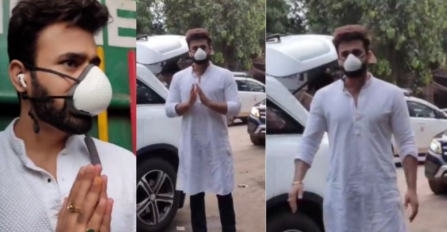 Pearl V Puri spotted first time after bail, greets paps with folding hands
