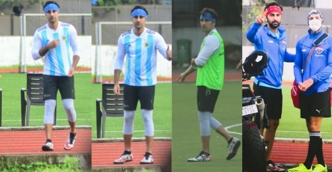 Ranbir Kapoor shows his love for Lionel Messi post historic win, flaunts Argentina's jersey during a game