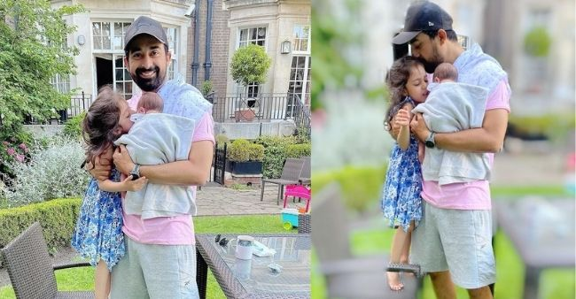 Rannvijay Singha and wife Prianka Singha disclosed their baby boy's name in the most adorable way; see the post