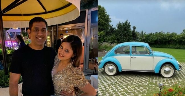 Sakshi Dhoni showoffs her Anniversary gift, writes, 'Thank you for the anniversary gift'