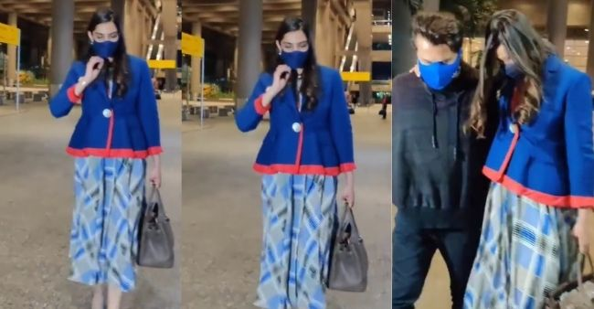 Sonam Kapoor's Airport look rumours fumes of pregnancy, fans wonder if she is expecting a baby