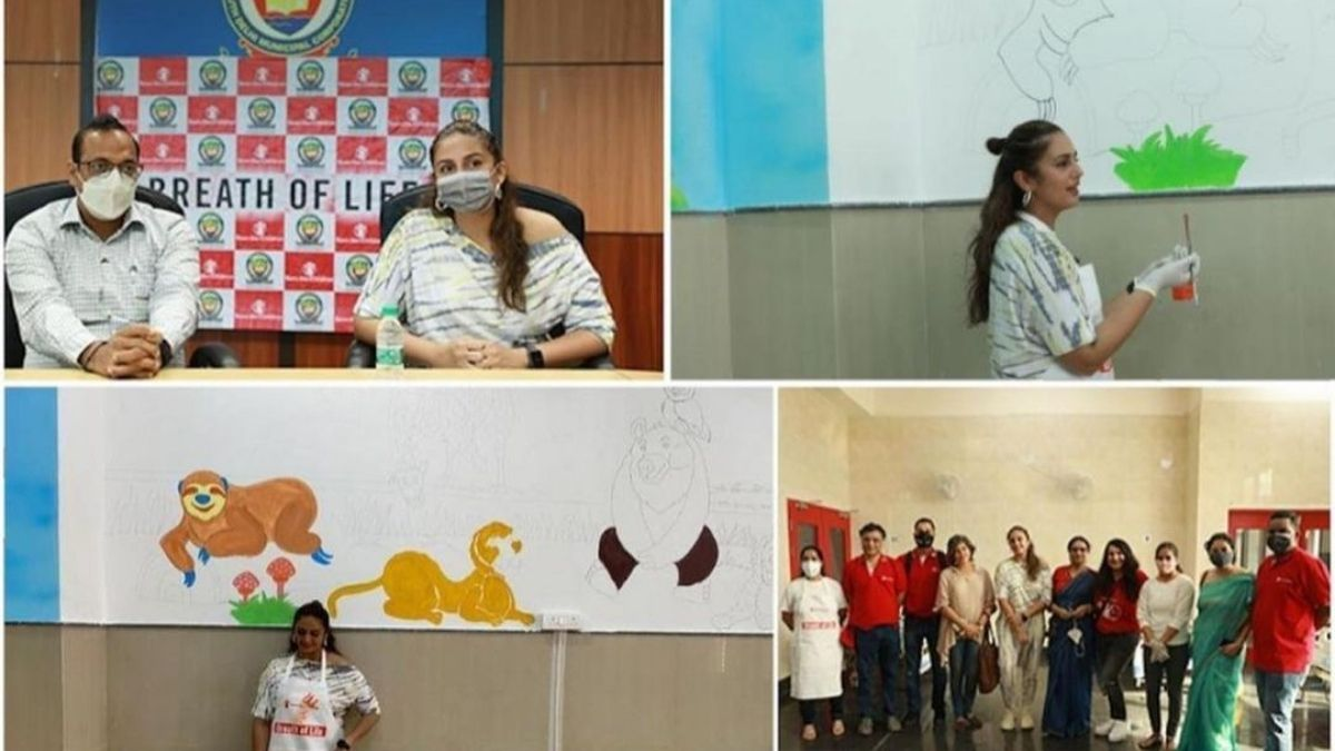 Huma Qureshi and Save the Children initiative setting up a 30-bed pediatric ward in Delhi for a possible COVID-19's third wave