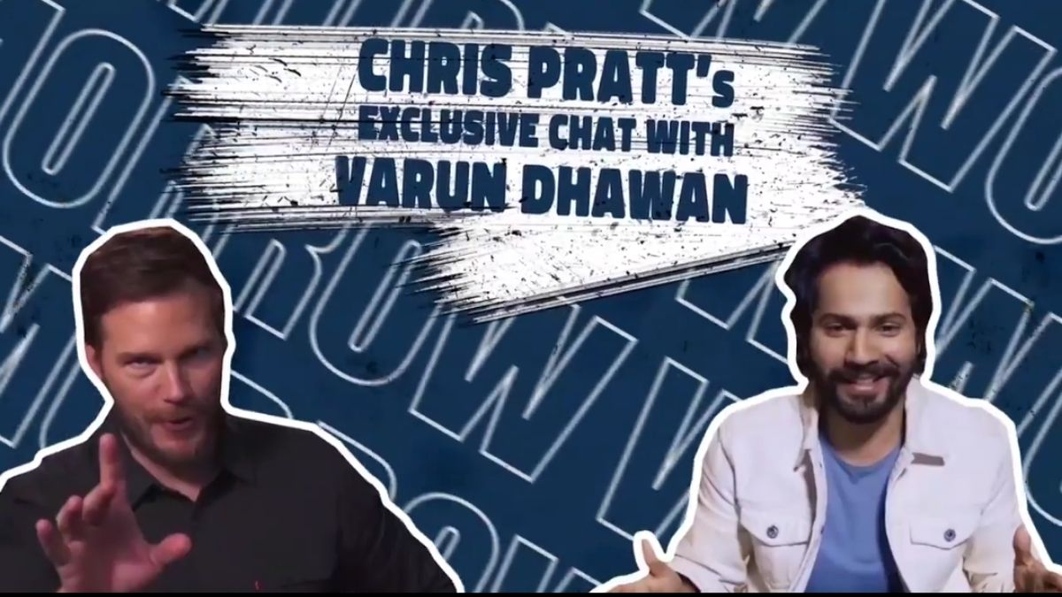 Chris Pratt surprises fans with a dance number on Varun Dhawan's song 'Tan Tanna Tan,' asks him to save the world