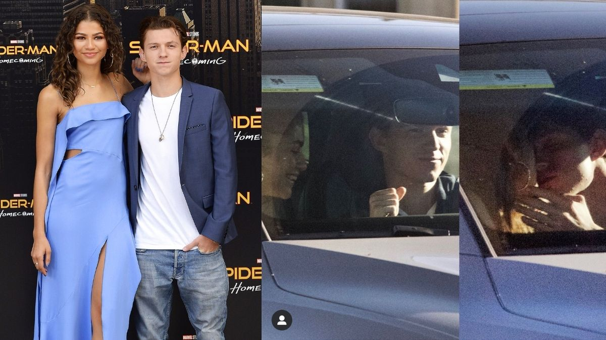 Spider Man: No Way Home stars Tom Holland and Zendaya confirms their relationship, couple's kissing pictures go viral