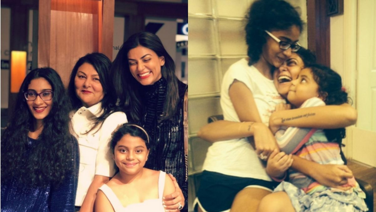 Sushmita Sen's daughter Renee speaks about being asked about her 'real mother'