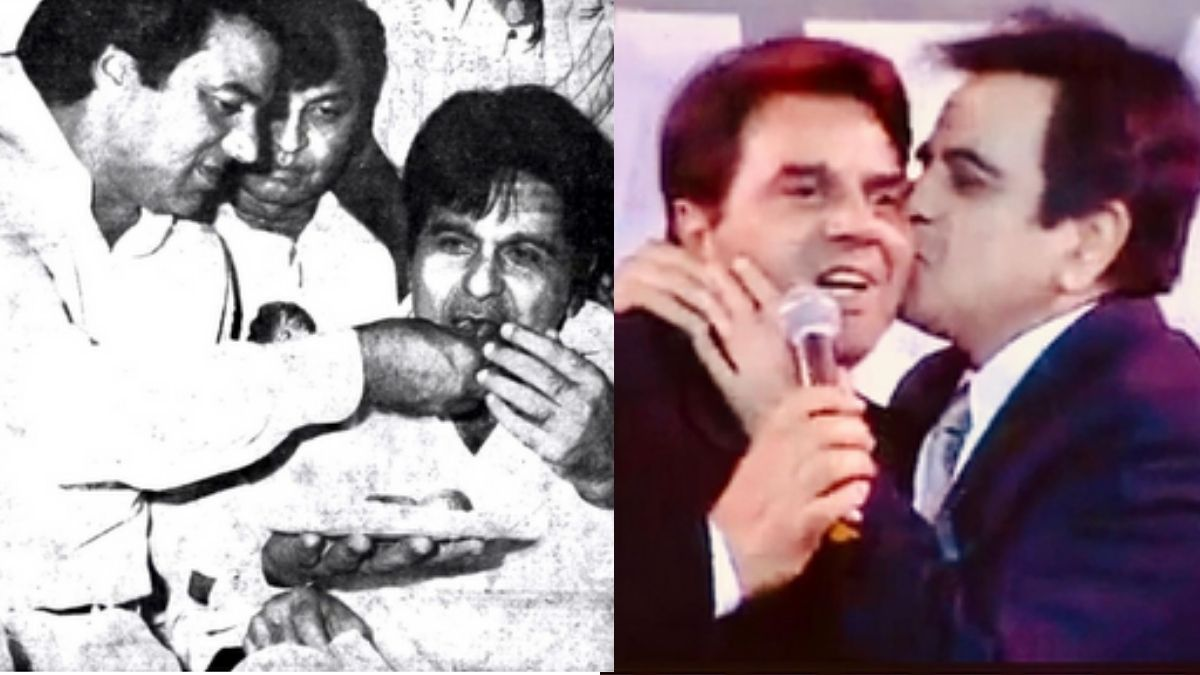 Dharmendra Deol shares an emotional video paying tribute to late 'brother' Dilip Kumar