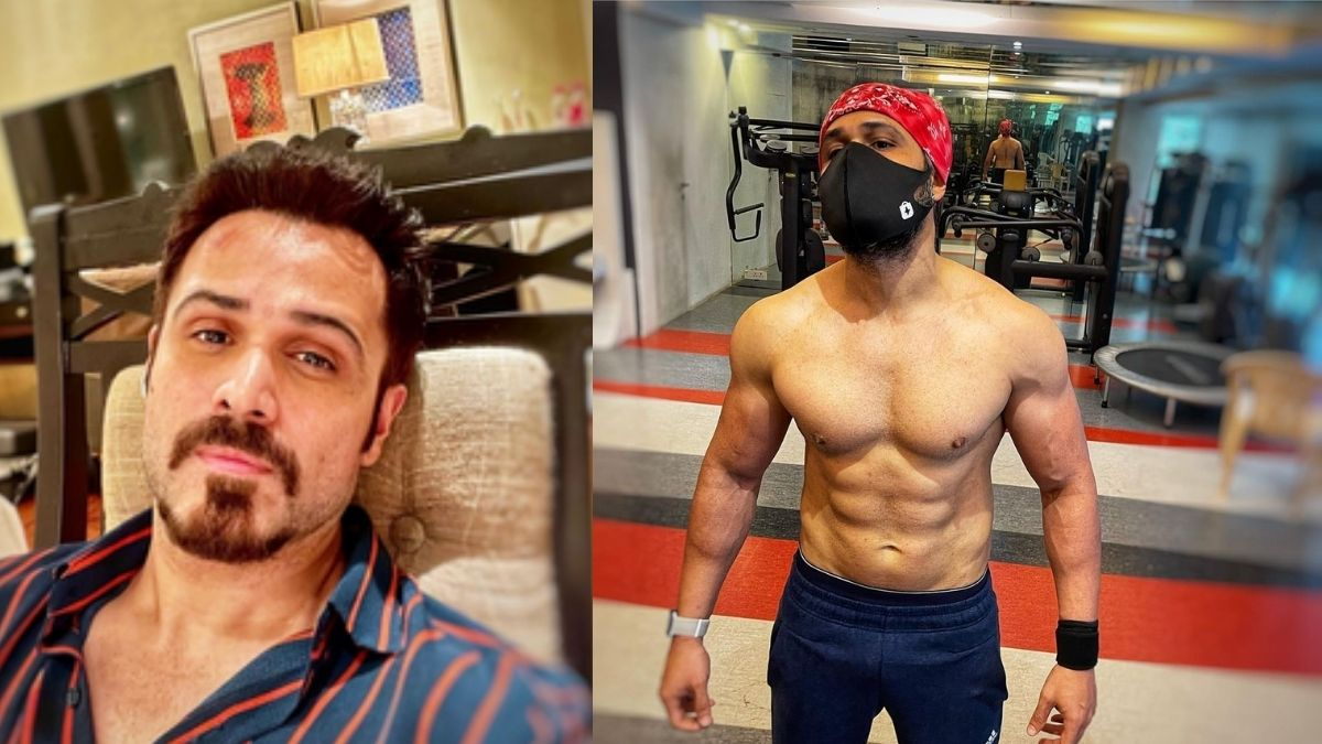 Emraan Hashmi stuns fans with a photo showing off his physical transformation for 'Tiger 3'