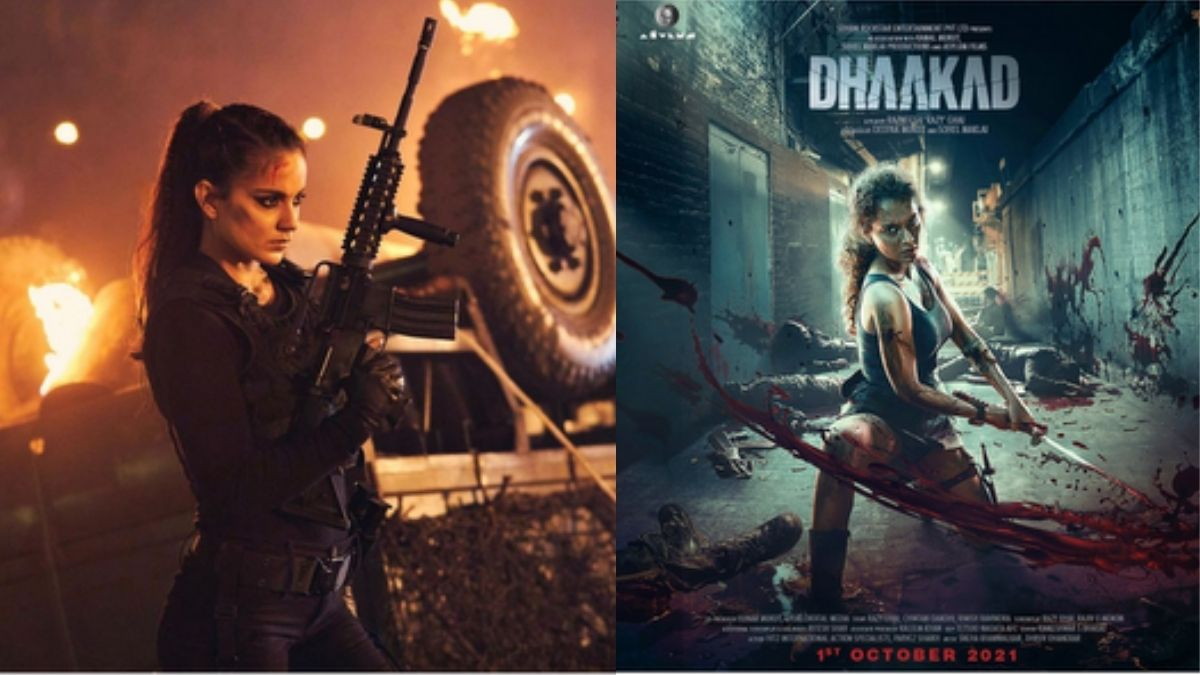 Kangana Ranaut calls herself 'the most vicious' agent, shares a glimpse of her upcoming film 'Dhaakad'