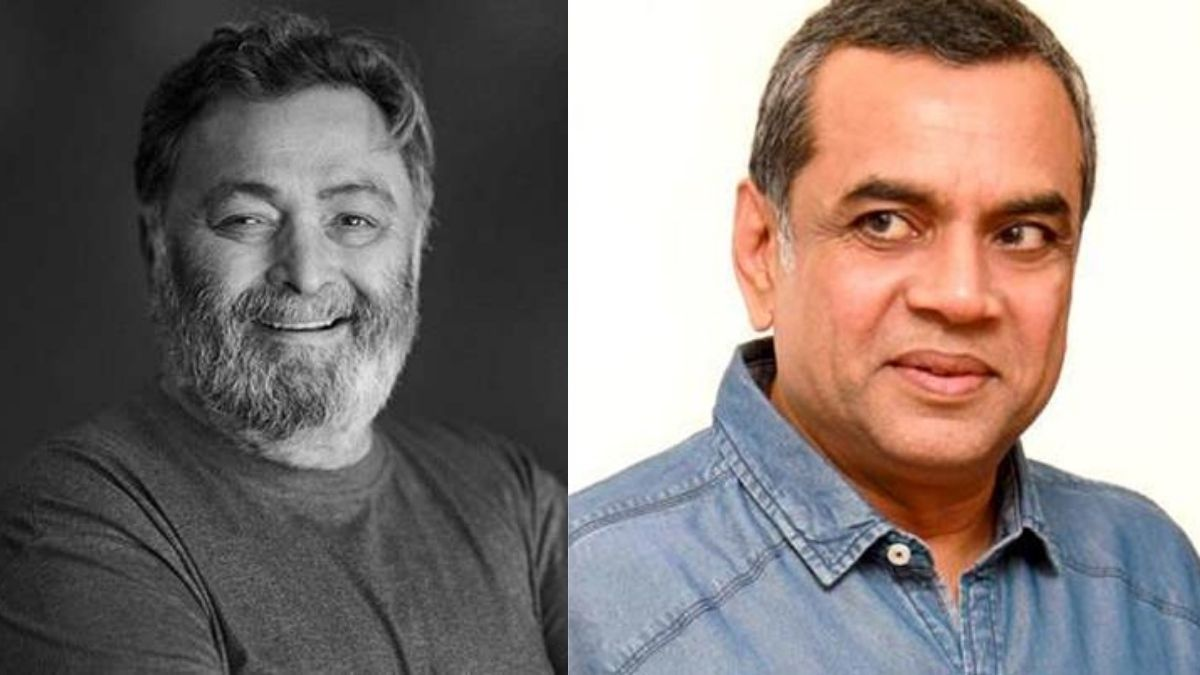 """Paresh Rawal says it was """"emotionally overwhelming experience"""" as he took up the character of late Rishi Kapoor's film, 'Sharmaji Namkeen'"""