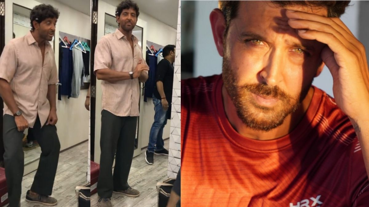 Hrithik Roshan singing 'Jadoo' in a Bihari accent in this BTS video is the best thing on the internet