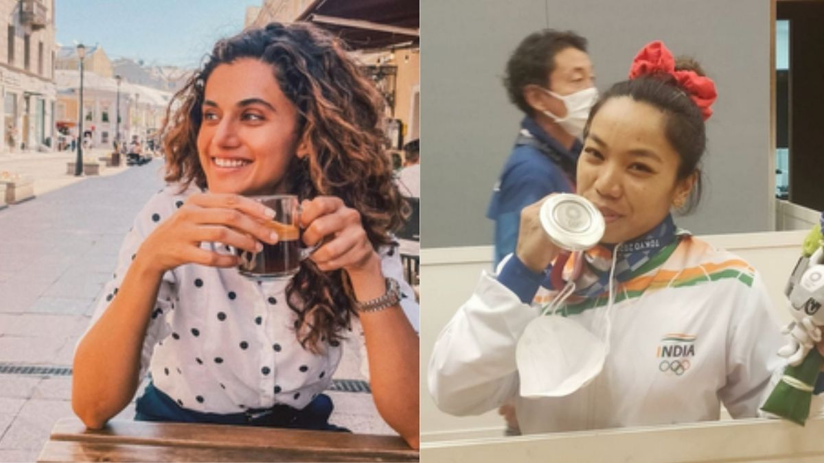 Taapsee Pannu wishes to buy pizza for Indian weightlifter Mirabai Chanu, says 'It will be an honor'