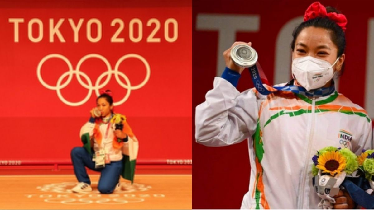 Mirabai Chanu wins silver medal in the Tokyo Olympics, netizens celebrates the proud moment