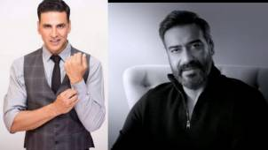 Akshay Kumar praises Ajay Devgn for his tribute poem for the soldiers, says 'this got me in tears'