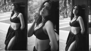 Sara Ali Khan sets internet on fire with her stunning monochrome pictures