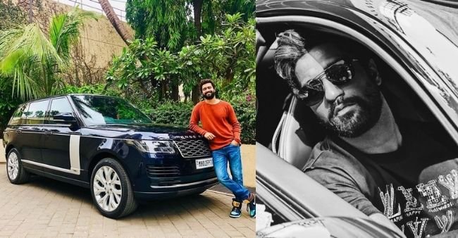 """Vicky Kaushal flaunts his brand new Range Rover worth Rs. 2 crore, posts """"Welcome home buddy!'"""