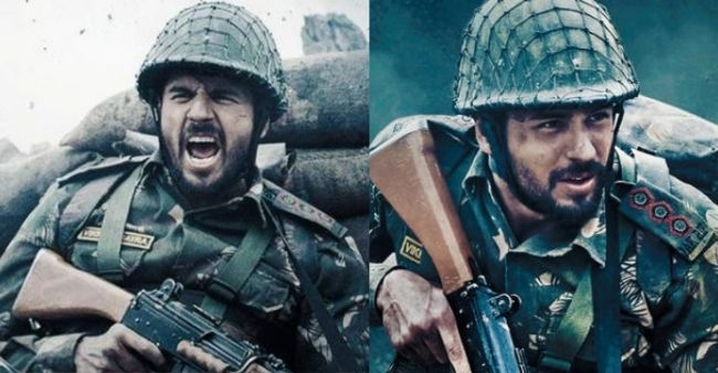 Sidharth Malhotra reveals the guns and gears used in Shershaah were close to the ones which were used in Kargil war