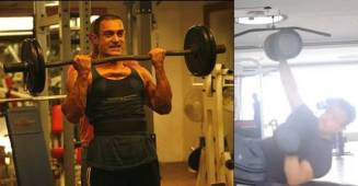 Aamir Khan's working out video left Ira Khan in Shock, asks 'What is this exercise?'