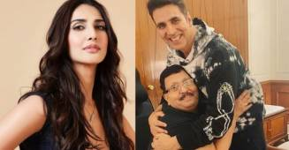 Bell Bottom actress Vaani Kapoor shared fan moment of his father with Superstar Akshay Kumar