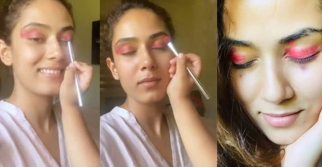 Mira Rajput enjoys her adorable makeover by daughter Misha, fans calls it her 'best look'