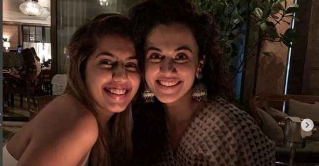 Sister Shagun Pannu confirms Taapsee Pannu's marriage, reveals she has already done recce for the wedding