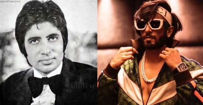 Amitabh Bachchan shared his young handsome look; Ranveer Singh called him 'heartthrob'