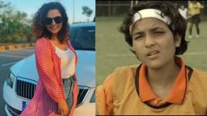 Actress Chitrashi Rawat thanks the Indian women's hockey team for making them relive the moments in Chak De! India as the team enters semi-finals in the Tokyo Olympics